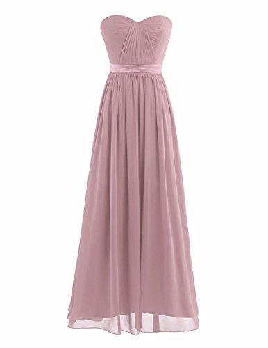 Dusty Rose Bridesmaid Dresses - 1