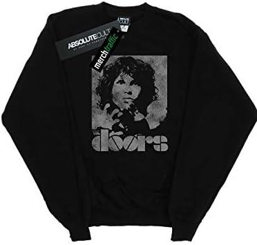 Absolute Cult The Doors Herren Jim Break On Through Sweatshirt Schwarz XXXX-Large