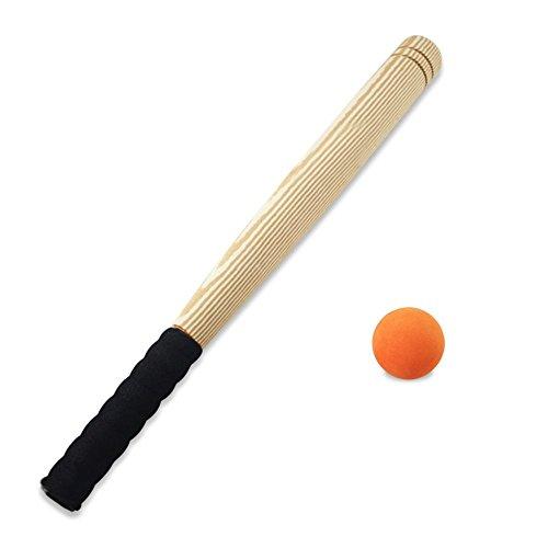 SUPOW Children's Baseball Bat Set, Kids EVA Foam Sports Baseball Hit Bat with One Ball Safty T-ball Toys Set for Boys and Girls (Baseball Bat Set) ()
