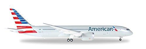 HE557887 Herpa Wings American Airlines B787-9 1:200 Model Airplane
