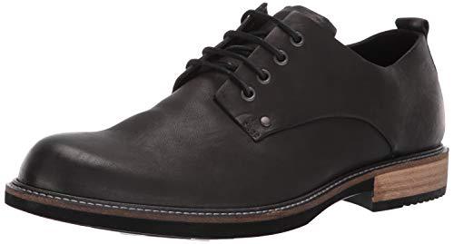 ECCO Men's Kenton Plain Toe Tie Oxford, Black Artisan, 40 M EU (6-6.5 US)