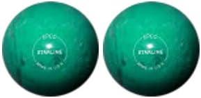 EPCO Duckpin Bowling ball- Starlineパール – 2ティールボール  4 7/8 inch- 3lbs. 8 oz.