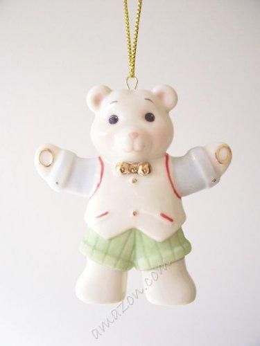 Lenox Teddy Bear Boy Ornament