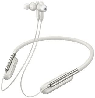 Samsung U Flex Bluetooth Wireless In-ear Flexible Headphones with Microphone US Version with Warranty , White – EO-BG950CWEGUS