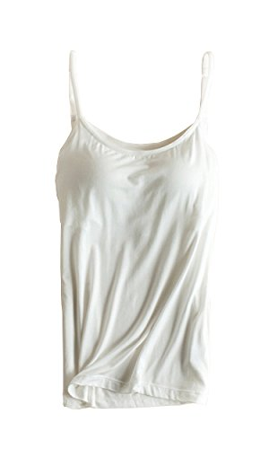b9b07c86822ad Atditama Womens Sexy Modal Padded Active Spaghetti Straps Camisole Tanks  Tops at Amazon Women s Clothing store
