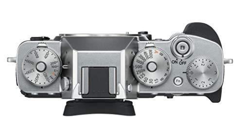 "Fujifilm X-T3 26.1 MP Mirrorless Camera Body (APS-C X-Trans CMOS 4 Sensor, X-Processor 4, EVF, 3"" Tilt Touchscreen, Fast & Accurate AF, Face/Eye AF, 4K/60P Video, Film Simulation Mode) - Silver 2"