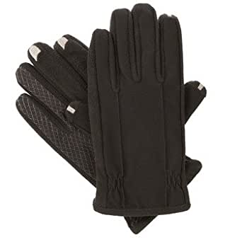 Isotoner® Men's Smartouch Gloves - Fleece Lined