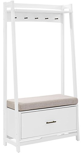 Crosley Furniture CF6015-WH Landon Hall Stand - White