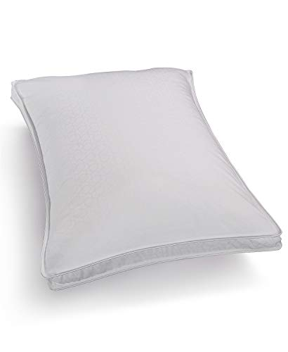 Series Standard Support - Hotel Collection Primaloft Silver Series Medium Support Down Alternative Standard Queen Pillow for Back Sleepers