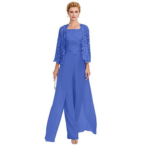 lace split dress - 4