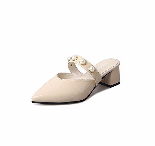 Sandales Avec Et Chaussons Ladies' mi Pearl D'Été YUCH Sharp Sharp nx4CAEYTY