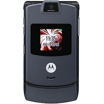 Motorola RAZR V3 Dark Gray T-Mobile Cell -