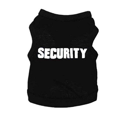 Inzoey Polar Fleece Cotton Comfy Sweatshirt For Dog Cat Puppy Soft Vest Coat black 3xl by Inzoey