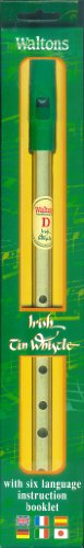 Walton's Irish Tin Whistle, Key of D (English, Spanish, French, Italian, German and Japanese Edition)