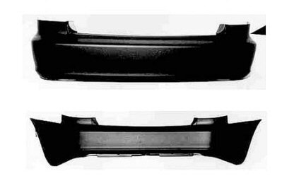 02 Honda Accord Rear Bumper - 8