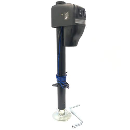 RAM Electric Tongue Jack with Single Wire Hook-up (EJ-3550-BBX)