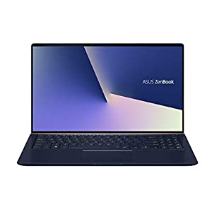 ASUS ZenBook 15 UX533FD-A9094T 15.6-inch FHD Thin and Light Laptop (8th Gen Intel Core i7-8565U/16GB RAM/1TB PCIe SSD/Windows 10/GTX 1050 MAX Q 2GB Graphics/1.67 Kg), Royal Blue Metal