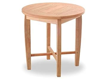 Atlanta Teak Furniture   Teak 24.u0026quot; Round Tea Table ...