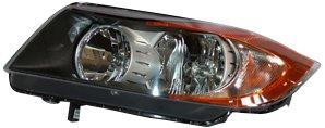 TYC 20-6975-00 BMW Passenger Side Headlight Assembly