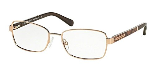 Michael Kors Menorca Eyeglasses MK7003 1011 Rose Gold Milky Brown Snake 52 17 - Michael Kors Usa