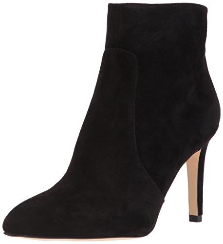 Sam Edelman Women's Olette Fashion Boot, Black Suede, 8.5 Medium US by Sam Edelman