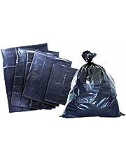 1 Kg Bolsas Negras para basura│ Alta resistencia calibre 300│2 Medidas disponibles: 60x 90cm (16-20 galones) y 90x120cm (36-46 galones)   Plásticos el prado