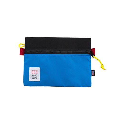 Topo Designs Accessory Bags - Black/Royal - Medium by Topo Designs