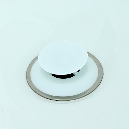 Recyclable Snug Plug Drain Stopper - White