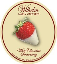 White Chocolate Strawberry - White Port Style