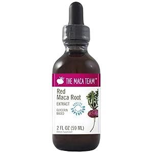 Extrait liquide de maca rouge – Commerce équitable, sans OGM, sans alcool, végétalien – produit avec des racines de maca…