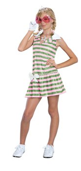 High School Musical Sharpay Golfdress Costume: Girl's Size 12-14