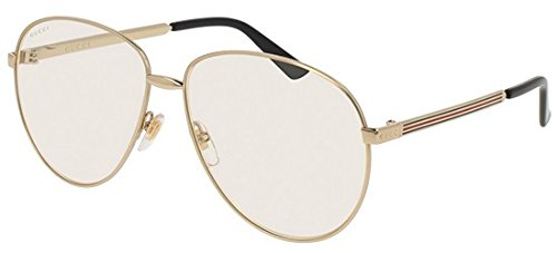 Sunglasses Gucci GG 0138 S- 003 GOLD / - Gucci Transparent