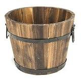 DeVault Enterprises DEV208-S Small Round Wooden Planter Review