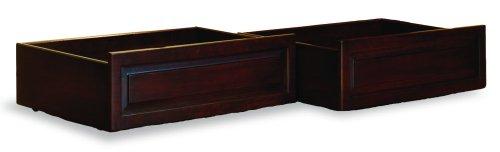 Raised Panel Drawers Antique Walnut/Twin/Full