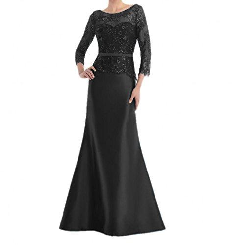 Charmant Brautmutterkleider Spitze Langes Damen Promkleider Partykleider Abendkleider Schwarz Abschlussballkleider 6q6rn0