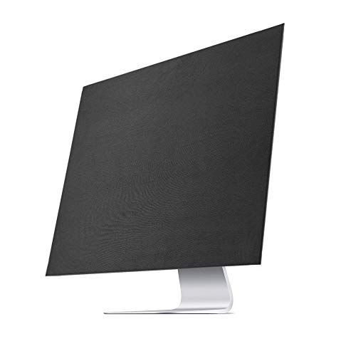 Lightning Power –Soft Dust Cover Sleeve for iMac iMac Pro 27 Inch with Fastened Bottom (27 Inch, Black) by Lightning Power (Image #1)