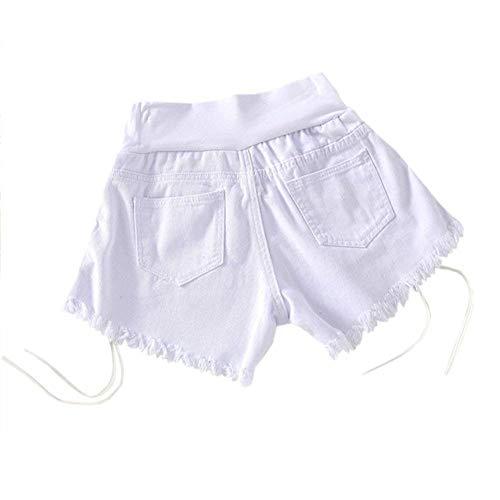 Mezclilla Banda Cortos Lady Vientre Pantalones Maternidad Calientes Slim Ocasionales Circulación Con Blanco De Fashion Fit Stretch Casual RtXqwvAt