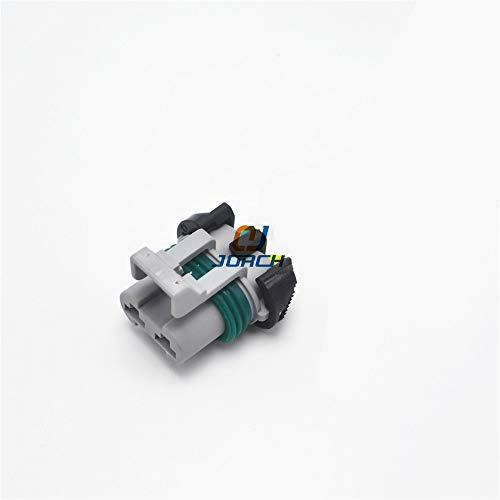 Ochoos 10 Sets 2 pin Delphi Electronic Ford Fan Plug headlamp Plug Power ABS Pump Connector 15363990 - (Package: 10 Sets): DIY & Tools
