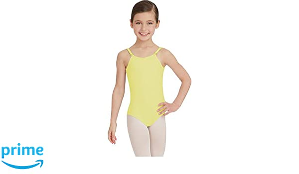 d07a3742f6f Capezio Girls  Camisole Leotard w Adjustable Straps