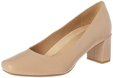 Naturalizer Women's Low Heel Leather Court Shoe Keela, Mocha Taupe, 10