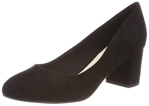 Escarpins Bianco Bout 49780 Pump Fermé Noir Blok Black Femme 10 Heel 24 Aqq1BHw