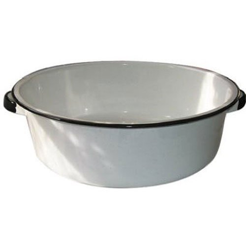 Granite Ware Dish Pan with Handles, 15-Quart