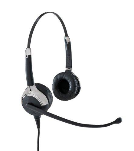 VXi 203052 UC ProSet 21V Over-the-Head Binaural Headset with N/C Microphone