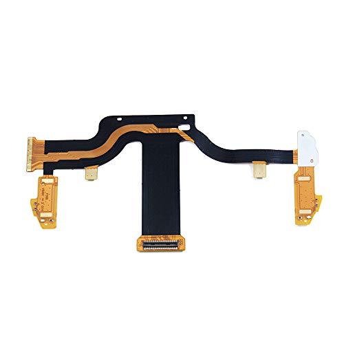 Valley Of The Sun Original LCD Screen Display Connecting Flex Cable Replacement for Sony PSP GO PSPGO Handheld Game Console Repair Spare Parts Accessories ()