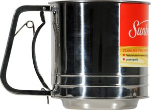 Sifter, Stainless 5 Cup