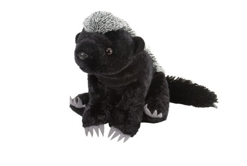 Wild Republic Honey Badger Plush, Stuffed Animal, Plush Toy, Gifts for Kids, Cuddlekins 12 Inches from Wild Republic