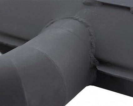 Rennauspuff SIP ROAD f/ür Vespa 200 Cosa 1 Stahl gesteckter Ausla/ß breitreifentauglich schwarz gro/ßer Kr/ümmer