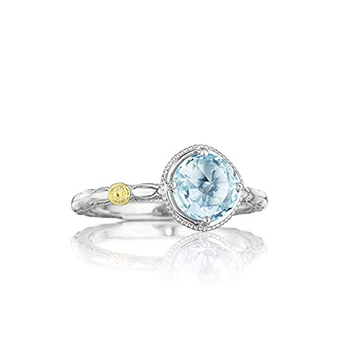(Tacori SR13402 Island Rains Sterling Silver Sky Blue Topaz Simply Gem Ring)