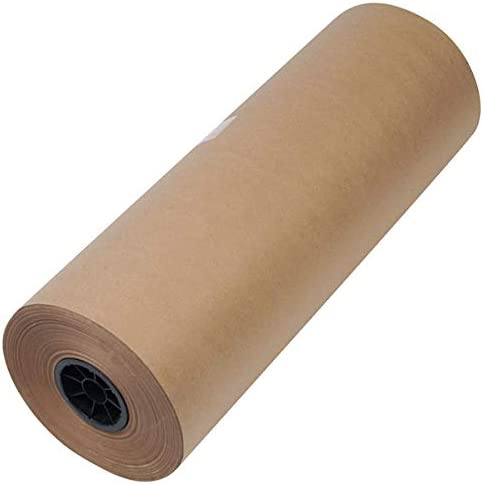 """TableTop King 1300039 24"""" x 720' Brown 50# High Volume Wrapping Paper"""