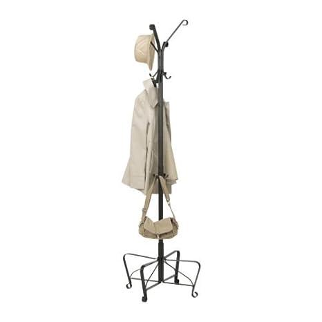 Ikea Portis - Hat y Perchero, Negro - 191 cm: Amazon.es: Hogar